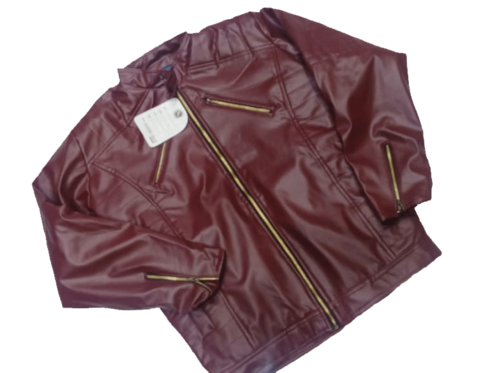 Full Sleeve Leatherette Jacket By Zara For Men L Size Rs 949