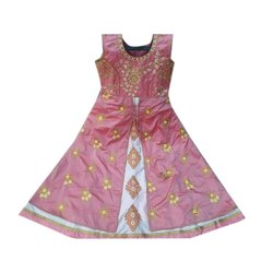 Party Wear Nathy Creation Girls Frock, Packaging Type: Packet