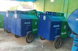 Garbage Collector Cycle Rickshaw