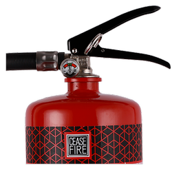 12 Kg Ms Sp Red (Gun Housing) Abc Powder-Based Portable & Wheeled Extinguisher Map 90