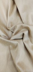 42 to 44 inches Cream Cotton Silk Fabric, Packaging Type: Roll