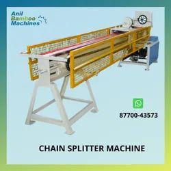 Semi-Automatic Bamboo Splitting Machine
