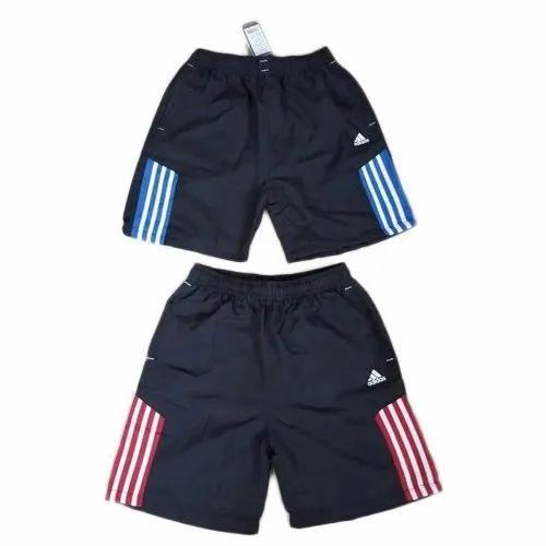 Polyester Black Shorts, Size: Medium