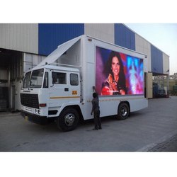 Truck Mounted LED Screen