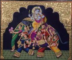 Krishna with Gopi
