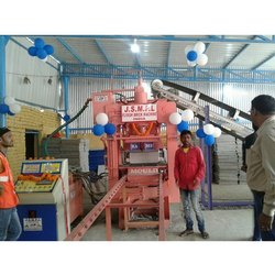 Semi Automatic Fly Ash Brick Making Machine