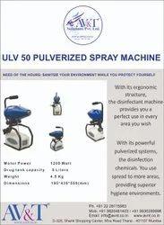 ULV 50 PULVERIZED SPRAY MACHINE