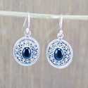 Black Onyx Gemstone 925 Sterling Silver Jewelry Royal Earring