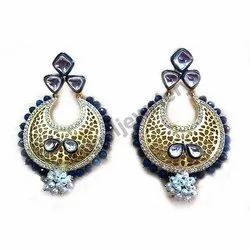 Silver Stone Studded Earring
