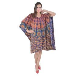 Cotton Printed Ladies Kaftan