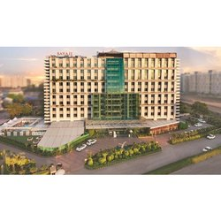 Steel Frame Structures Concrete Hotel Construction Services
