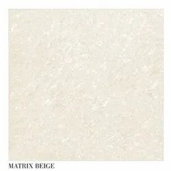 Metro GVT Matrix Beige Polished Floor Tile, Packaging Type: Box, Thickness: 10-15 mm