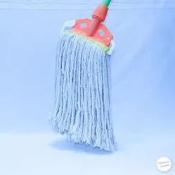 6 Inch Universal White Cotton Mop