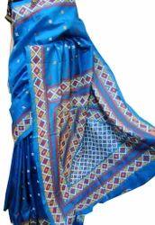 boutique saptaparni Silk Gujarate Saree, Blouse Size: 1 metar