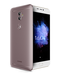 Mocha Gold and Black Gionee A1 Plus Smartphone