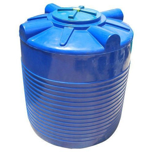 OMEGA Gold Blue 500 Litre Double Layer Water Tank, Storage Capacity: 500L