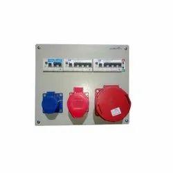 Innovative Mild Steel Multi Socket Box, Ip44