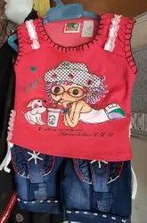Girl Indian Kids Boys T-Shirt And Shorts