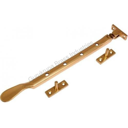 Brass Window Stay, Size: 10 inches