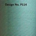 P114 Non Woven Metallic Printed Fabric