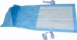 Maternity Drape Sheet with absorbent Pad