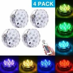 ANORALUX Submersible LED Lights 4 Pack