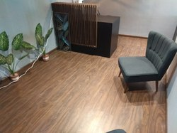 Office Wooden Flooring Service, Thickness: 8 Mm