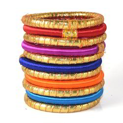 Indian Handcraft Most Popular Fashionable Silk Thread Bangle