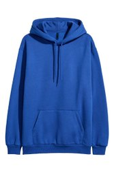 Hooded Full Sleeves blue hoodies