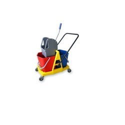 Wringer Trolley Double Bucket