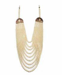 Mens Designer Pearl & Moti Mala For Grooms/Dulha