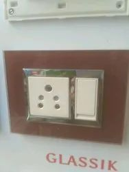 Glassic Electric Switch Board