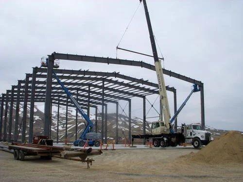 Steel Structure Erection Work