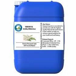 Katyani出口蒸汽蒸馏yarrow油,用于芳香疗法和防腐剂