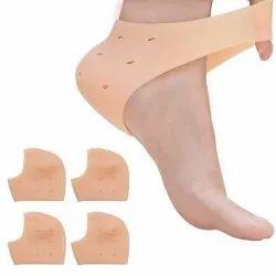 Silicone Gel Heel Pad Socks
