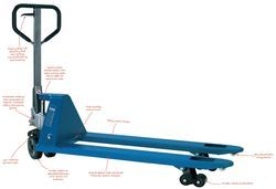 Hand Operated Hydraulic Pallet Truck