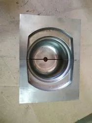 Plain Square Stainless Steel Casting Die, Packaging Type: Wooden Box