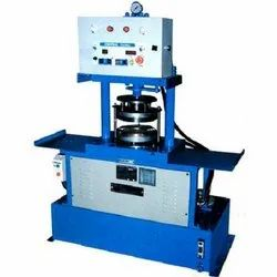 Automatic Single Die Paper Plates Making Machine, For Paper Plate Making