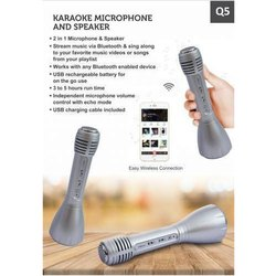 Karaoke Microphone and Speaker
