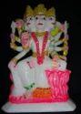 White Marble Laxmi Mata Statue