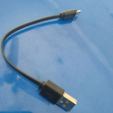 Black Power Bank Charger Cable