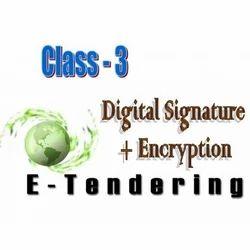E- Tendering Digital Signature Certificate