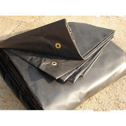 Waterproof Black Tarpaulin
