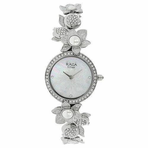 28078165baf88 Titan Raga Aurora Mother of Pearl Watch - Titan Showroom, Ghaziabad ...