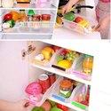 Fridge Storage Basket Shelf Organizer Space Saver Food Storage Refrigerator Drawer- Pack Of 4