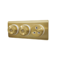 Heritage Antique Gold Plated Switches