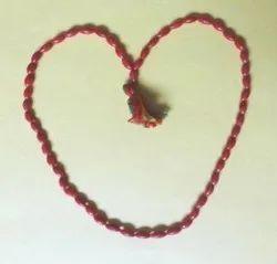 Kesar Zems Red Coral - Munga Mala 54 Beads