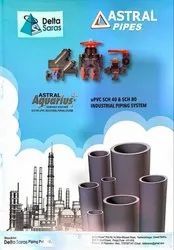 Astral Aquarius plus SCH-80 uPVC industrial piping system