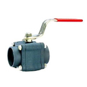 L And T Screwed Ball Valve