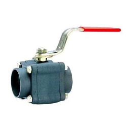 L&T Audco Ball Valve 3pc Design Screwed